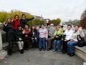 Мы в Париже!